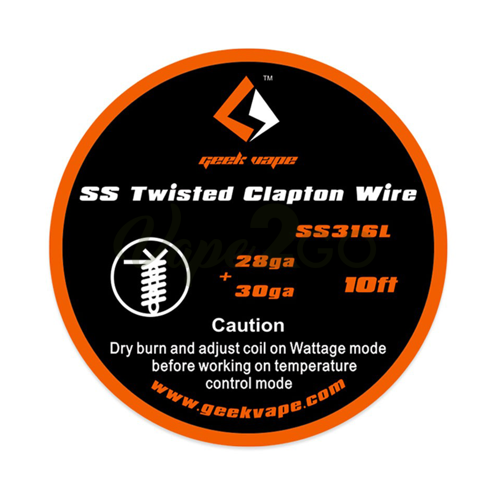 SS Twisted Clapton Wire