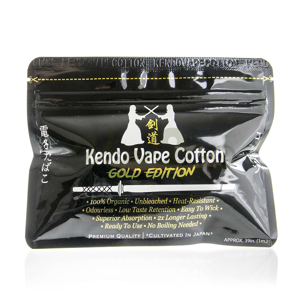 Kendo Watte - Vape Cotton Gold